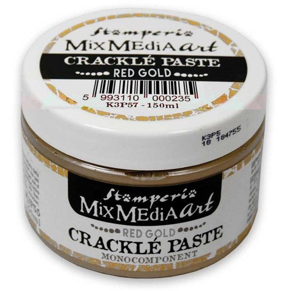 Crackle' Paste monocomponente Red Gold