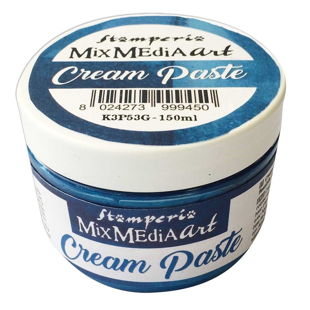 Cream Paste Metallic Blue 150 ml