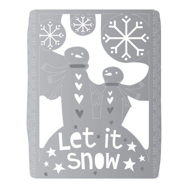 Thinlits Let it Snow